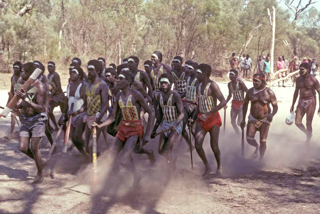 aboriginal ceremonies in australia A smoking ceremony is an ancient aboriginal custom in australia that involves  burning various native plants to produce smoke, which has cleansing properties .
